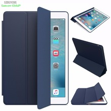 Official Smart Case For iPad Mini 3 2 1 SZEGYCHX PU Leather Cover Auto Sleep protective shell for apple ipad mini1 mini2 mini3(China)