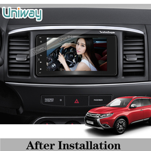 uniway 2 din android car dvd for mitsubishi outlander 2010 2013 2014 2015 2016 car radio stereo multimedia with steering wheel