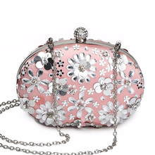 100% handmade clutch bags Royal vintage Evening Bag beading tablets petal bag flower evening bags wedding purse shoulder handbag