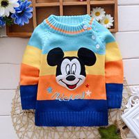 Hot sale Hello KT! baby girls and boys autumn/winter wear girls and boys sweater children clothing baby sweater 3 colors(China)