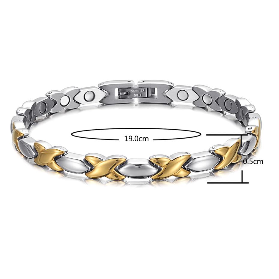 OSB-1970SG Popular stainless steel bracelet (22)