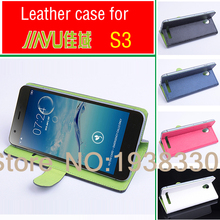 For Jiayu S3 luxury with 2 card slots leather case For JY-S3 Smartphone 3 colors Best