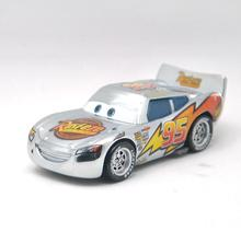 No. 95 Pixar Cars Diecast Metal Maikun silver toy car for children 1:55 Loose new brand in Stock Lightning McQueen