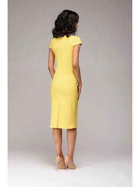 Summer 2018 Dress Women Solid Slim dress Short Sleeve Office Business Dress Elegant Sheath Party Vestidos 6