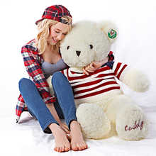 Big Teddy Bear For Valentines Day Stuffed Bears Pluche Stuffe Speelgoed Kawaii 120cm Soft Giant Teddy Bear Plush Large 70C0430