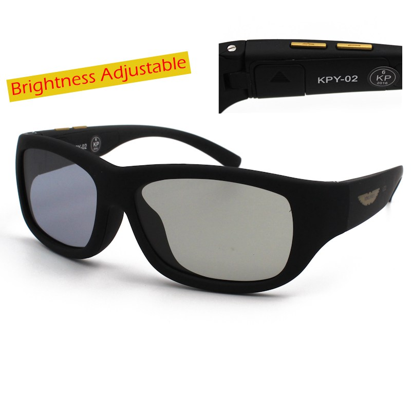 Original Design Sunglasses LCD Polarized Lenses Electronic Transmittance Adjustable Lenses Suitable Both Outdoors and Indoors<br><br>Aliexpress