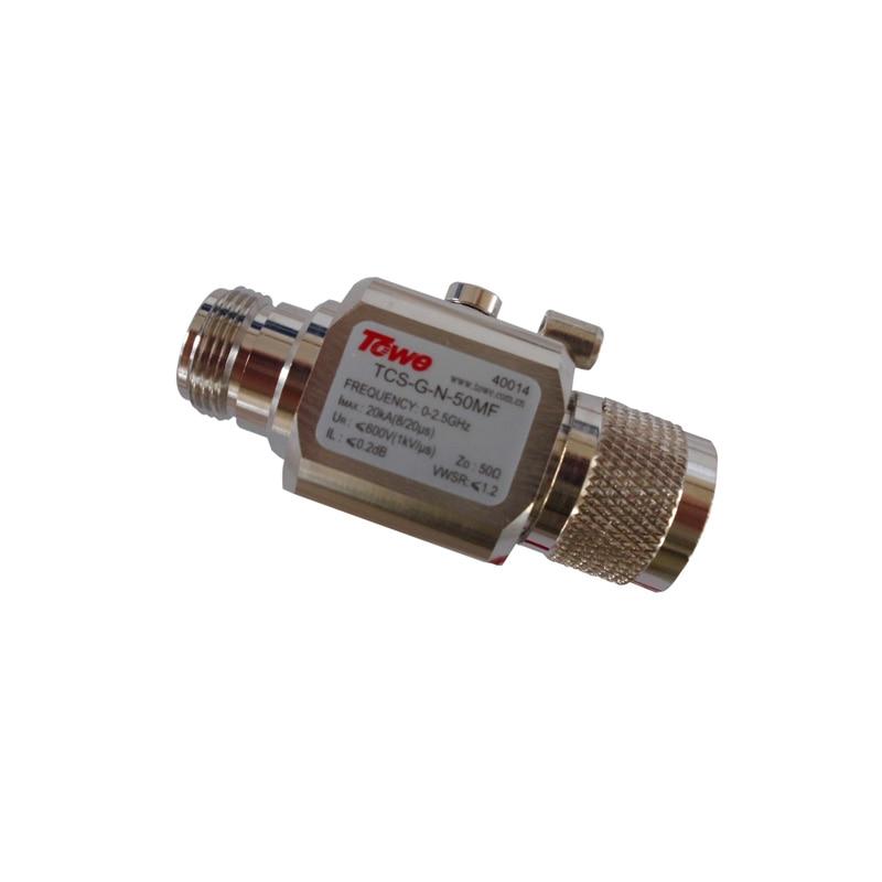 TOWE TCS-G-N-50MF   0-2.5G, 50 ohm, BNC, both ends of the MF, rated voltage 90 &amp; 230V, Imax: 20KA surge protector for antenna TV<br><br>Aliexpress