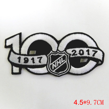 National Hockey League NHL 2017 Seaso Patch 100th Anniversary Jersey Sleeve Logo Emblem Stanley Cup