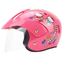 Free Shipping NEW Cute Children's Motocross Motorcycle Helmet Winter Warm Comfortable Motos Safety Helmets For Kids(China)