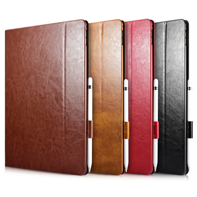 Fashion Tablet Leather Cover for Apple iPad Pro Case 12.9 inch High Quality Luxury Brand Flip With Stand Holster for iPad Pro<br><br>Aliexpress