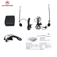 Hot Helmet to Helmet Communicator Motorcycle Intercom Motorbike Helmet Headset Intercom 2-Way Communication System Earphone+Mic(China)