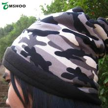 AT8722 Unisex Multifunction Outdoor Scarf Polar Fleece Thermal Face Snuggling Muffler Neck Warmer Head Wrap Winter Hat Bandana