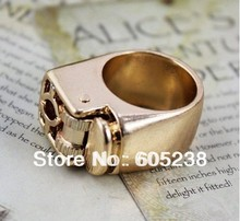 Free Shipping 10Pieces Unisex Punk Gothic Lighter Ring Wedding Decor Ring