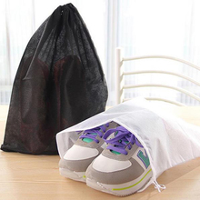 10pcs/set Shoes Bag Non-Woven Fabric Boot Dustproof Organizer Storage Bag Holder Case For Travel Camping Carrying Protect Shoes(China)
