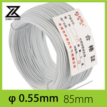 0.55mm 85m Cable Tie Galvanized Tie Wire White Flat