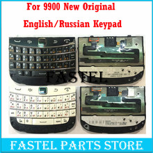 For BlackBerry Bold Touch 9900 original New  Mobile Phone Housing English / Russian Keypad Cover Case Free shipping