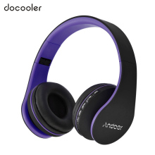 Bluetooth Headphone Wireless Stereo Bluetooth Headset 3.5mm Wired Earphone MP3 Player TF Card FM Radio Hands-free w/ Mic(China)