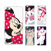 Mickey Minnie finger cat soft TPU cover for huawei P8 P9 Lite NOVA MATE 8 9 honor 8 case for huawei p8 lite 2017 phone Silicone