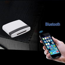 Ship from UK Bluetooth A2DP Music Receiver Audio Adapter for iPad for iPod for iPhone 30Pin Dock(China)