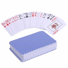 1set Waterproof Durable PVC Scrub Plastic Playing Cards Novelty Poker Card Pokerstar Board Game Texas Play Family Entertainment