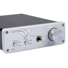 Buy TOPPING VX1 2*25W Class-T Tripath Stereo Hi-Fi Digital Power Subwoofer Amplifier + Built-in 24bit/96kHz USB DAC + Headphone Amp for $105.25 in AliExpress store