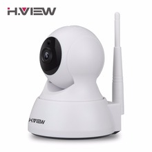 H.VIEW 720P IP Camera 1200tvl Surveillance Camera PTZ CCTV Cameras Camara IP iOS Android Remote View IP Wifi Cameras(China)