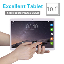 2018 Tablet PC 10.1 inch Android 8.0 Tablet pc Ram 2GB ROM 32GB 8 Octa Core Dual SIM 3G/4G LTE Bluetooth Wireless FM IPS Phone(China)