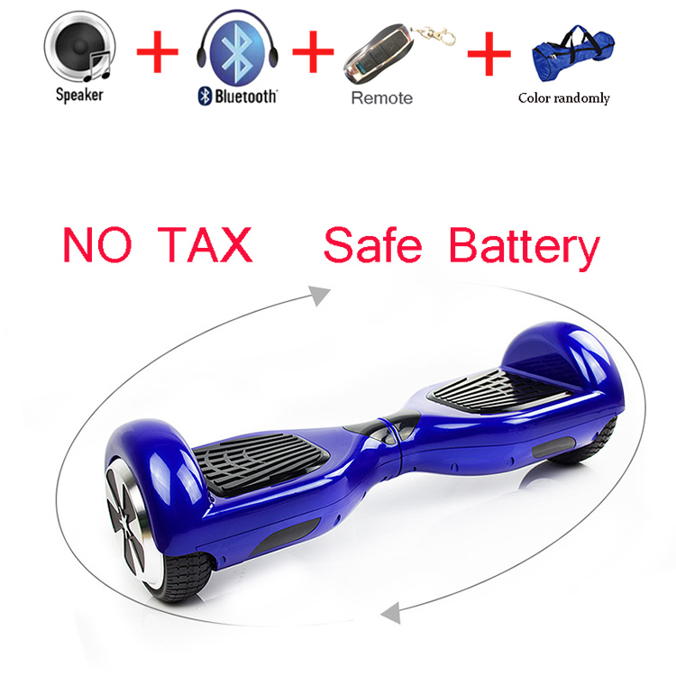 6.5 inch Speedway Self Balance Electric Standing Hoverboard Scooter Remote Key LED Light Two Wheel Smart Skateboard  -  ShenZhen SameZone Hi-Tech CO.,LTD store