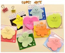 1PCS/Lot candy smile design super sticky notes memo notepad kawaii korean Novelty stationery office supplies School