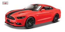 Maisto 1:24 NEW 2015 Ford Mustang GT 5.0 Modern Muscle Red Diecast Model Car Toy New In Box Free Shipping