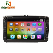 Android 6.0 Ram1G- 2G Rom 16-32GB Quad Core 1024*600 2Din Car DVD GPS Navigator Radio Player Red Green Color For VW For Octivia