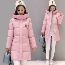 SNOW PINNACLE 2018 Women Parkas Winter Female Warm Thicken Middle-Long Slim Hooded jackets coat Outwear Parkas coat M-3XL(China)