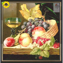 DIY fruit harvest diamond embroidery painting 3d cross stitch kit mosaic picture diamond painting full rhinestones Needlework