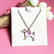 Foxhound dogs pendants for friends jewellery necklace women girl body jewelry poodle necklace 2016 friendship pendants cheap