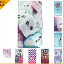 2015 Luxury Cartoon Flip Leather Cell Phone Case Cover For Motorola Moto G3 XT1543 XT1541 Case Back Cover For MOTO G 3 Rd Gen