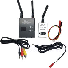 Newest Car Wifi Video Backview Camera System 5.8G 2000mW 2W 32CH Wireless AV TS933 Transmitter 5.8G 48CH RD945 Receiver for FPV
