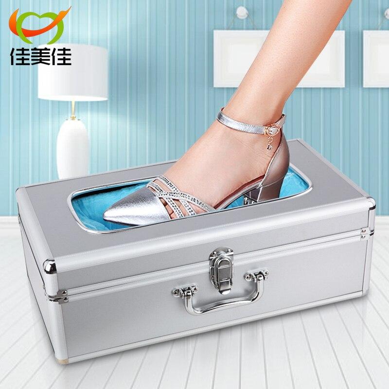 Flower ABS Plastic Automatic Convenient Home Shoe Covers Machine