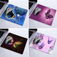 Mousepad Tapis De Souris Diy Design Beautiful Butterfly Aming Pads Custom Best Durable Anti-slip Computer Mouse Pad Rubber Mats