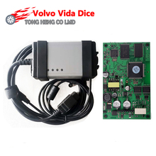 Green Board Super Professional Car Diagnostic Tool for Volvo Vida Dice Pro 2014D Supports Both J2534 And for Volvo