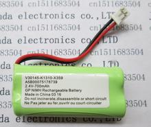 HOT NEW V30145-K1310-X359 (TWO 7 battery pack.)cordless phone battery 2.4V 700mah phone batteries with plug(China)