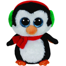 "Ty Beanie Boos 10"" 25cm North Penguin Medium Plush Stuffed Animal Collectible Soft Plush Bird Doll Toy(China)"