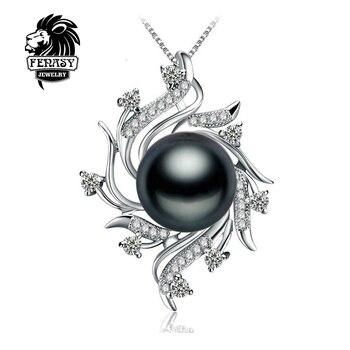 FENASY Богемный Ожерелье Ювелирные Изделия Перлы ожерелья & подвески Перл марка мода ретро ожерелье женщины Естественно жемчужное ожерелье