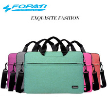 Laptop case 13.3 14.6 15.6inch laptop bag messenger Laptop Sleeve Bag Case Carrying Handle Bag For Apple Dell Notebook Netbook(China)