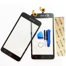 New Black Touchscreen For Explay Rio Play Touch screen Digitizer Front Glass Replacement Touch Panel Full Track NO.+Tool