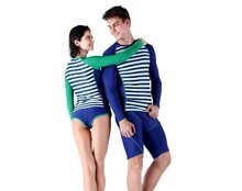 SABOLAY couple speed dry skin tight fitting diving suit female Swimwear ladies split surfing suit beach swimsuit Lovers swimwear
