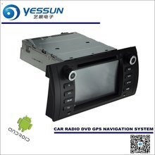 Car Android Navigation System Radio Stereo CD DVD Player GPS Navi BT HD Screen Multimedia - For BMW M5 E39 / 5 E39 1995~2003
