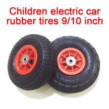 Children electric car pneumatic rubbe tires,Children electric vehicle pneumatic wheels,Karting tires Ride On Cars wheels for toy(China)