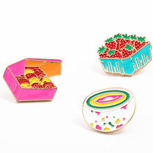 Fashion jewelry charm women brooch jacket corsage The girl clothes micro chapter Animated cartoon brooch sell like hot cakes