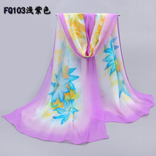 Ladies scarves 2015,summer style,flower print,chiffon scarf,floral hijab,shawls and scarves,female silk scarf,desigual,bandana