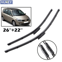 Misima Windshield Windscreen Wiper Blades For 2005-2009 Renault Scenic II 2 / Grand Scenic 2 Front Window Wiper 2006 2007 2008